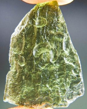 Olive Green Nice Shape Moldavite (2.93grams) 1