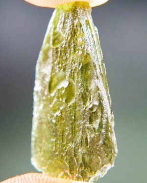 Olive Green Nice Shape Moldavite (2.93grams) 2