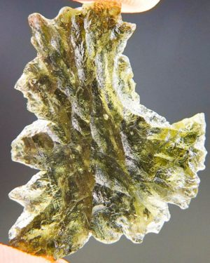 Quality A++ Beautiful Moldavite From Besednice With Certificate Of Authenticity (3.15grams) 1