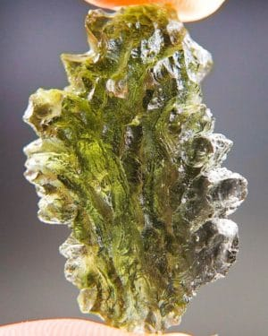 Quality A+++ Beautiful Moldavite From Besednice With Certificate Of Authenticity (5.6grams) 1