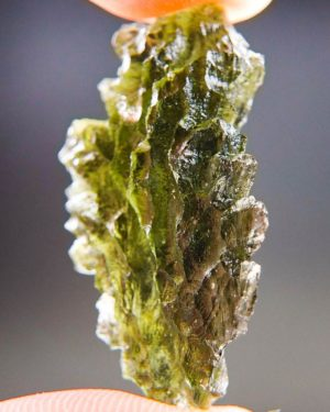 Quality A+++ Beautiful Moldavite From Besednice With Certificate Of Authenticity (5.6grams) 2