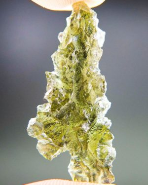 Quality A++ Elegant Moldavite From Besednice With Certificate Of Authenticity (3.34grams) 1