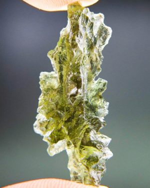 Quality A++ Elegant Moldavite From Besednice With Certificate Of Authenticity (3.34grams) 2