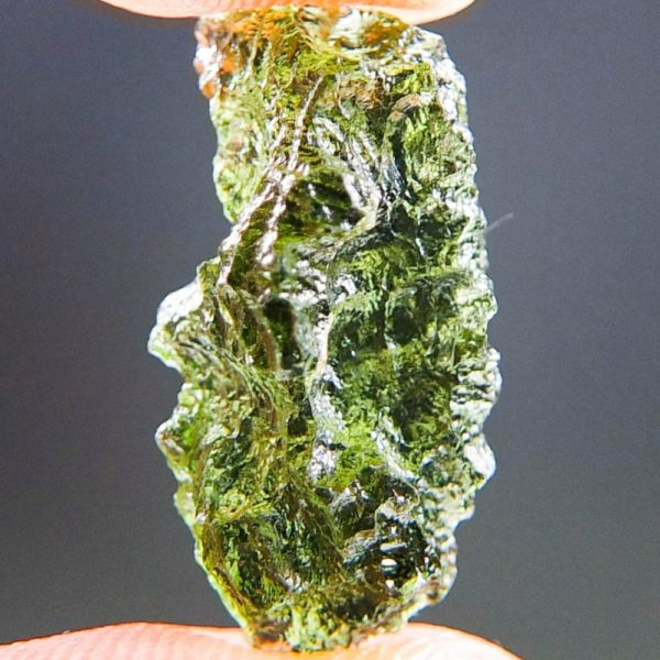 Quality A++ Glossy Beautiful Moldavite From Chlum (1.34grams) 1
