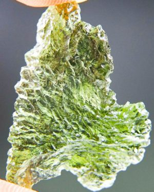 Quality A+++ Glossy Natural Piece Moldavite From Chlum (2.98grams) 1