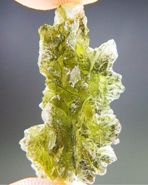 Quality A+++ Investment Moldavite From Besednice With Certificate Of Authenticity (3.73grams) 2