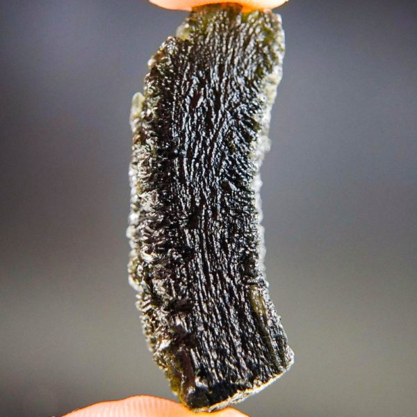 Quality A+ Large Elipsoid Shape Moldavite With Certificate Of Authenticity (17.72grams) 3