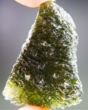 Quality A++ Large Investment Moldavite With Certificate Of Authenticity (18.92grams) 2