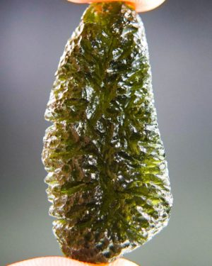 Quality A+++ Large Moldavite With Certificate Of Authenticity (11.98grams) 1