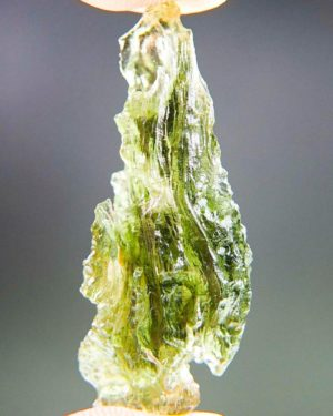 Quality A++ Light Green Beautiful Moldavite With Certificate Of Authenticity (3.92grams) 1