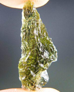 Quality A+ Shiny Olive Green Moldavite From Chlum (1.84grams) 1