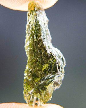 Quality A+ Shiny Olive Green Moldavite From Chlum (1.84grams) 2