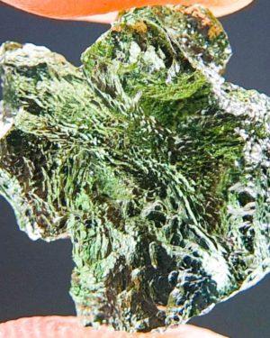 Quality A+ Very Glossy Rare Moldavite (1.25grams) 1