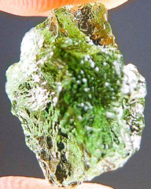 Quality A+ Very Glossy Rare Moldavite (1.25grams) 2