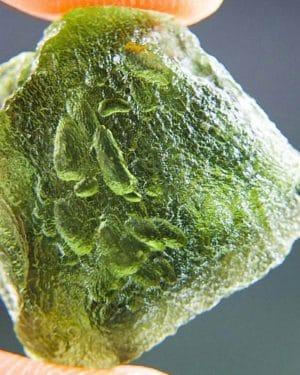 Shiny Beautiful Shape Moldavite (2.77grams) 1