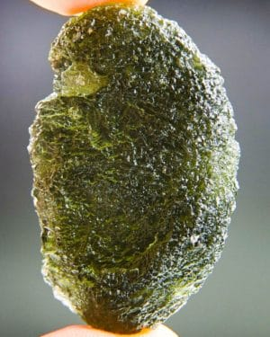 Shiny Large Investment Moldavite From Chlum (20.94grams) 1