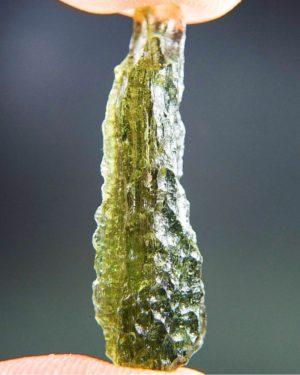 Shiny Olive Green Moldavite From Chlum (1.91grams) 2