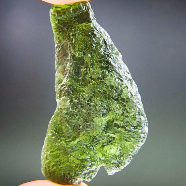 large angel chime moldavite with certificate of authenticity (16.55grams) 1