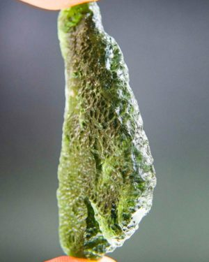 large angel chime moldavite with certificate of authenticity (16.55grams) 2