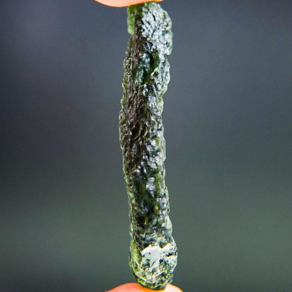 large angel chime moldavite with certificate of authenticity (16.55grams) 3