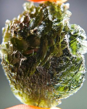 magnificent large moldavite with certificate of authenticity (11.86grams) 2