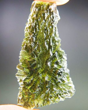 Quality A++ Beautiful Drop Shape Moldavite With Certificate Of Authenticity (8.8grams) 1