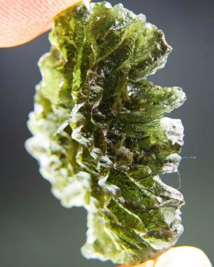 Quality A+++++ Investment Moldavite From Besednice With Certificate Of Authenticity (7.01grams) 2