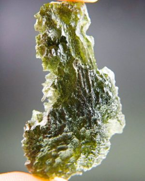 quality a+++ large rare moldavite with certificate of authenticity (10.26grams) 1