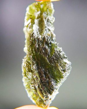 quality a+++ large rare moldavite with certificate of authenticity (10.26grams) 2