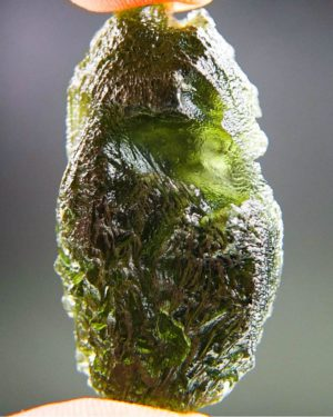 quality a+++ large shiny moldavite with certificate of authenticity (12.81grams) 2