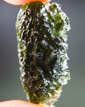 quality a+++ large and shiny moldavite with certificate of authenticity (10.2grams) 2