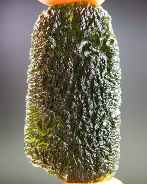 quality a+ large and shiny moldavite with certificate of authenticity (19.19grams) 1