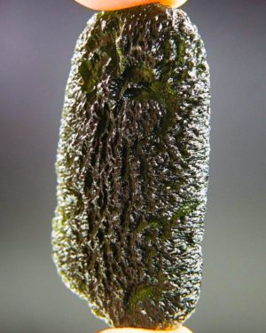 quality a+ large and shiny moldavite with certificate of authenticity (19.19grams) 2