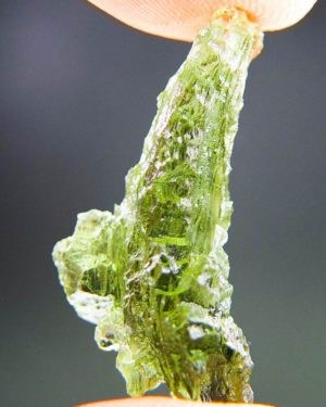 Quality A++ Magnificent Moldavite From Besednice With Certificate Of Authenticity (3.03grams) 2