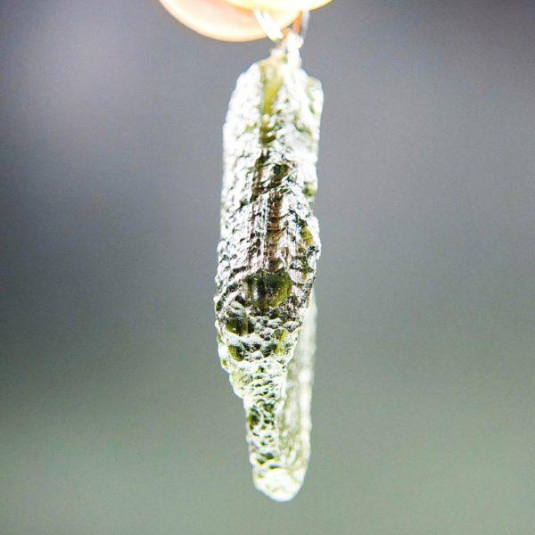 bottle green color moldavite pendant (6.39grams) 3