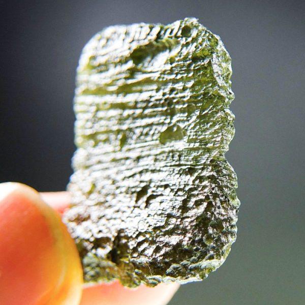bottle green color moldavite pendant (6.39grams) 5