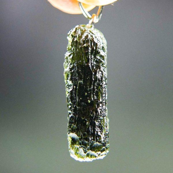 elegant moldavite from chlum pendant (5.36grams) 3