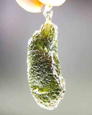 moldavite from chlum pendant (6.37grams) 2