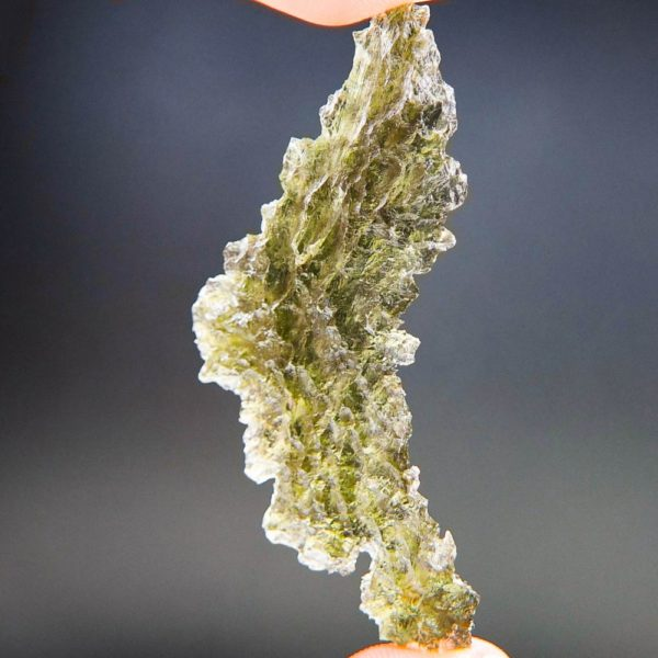 quality a+++ angel chime moldavite from besednice with certificate of authenticity (6.36grams) 2