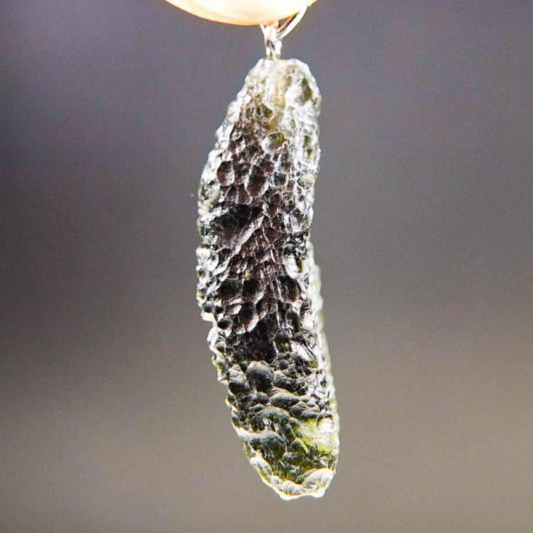quality a+ beautiful moldavite pendant (6.72grams) 3