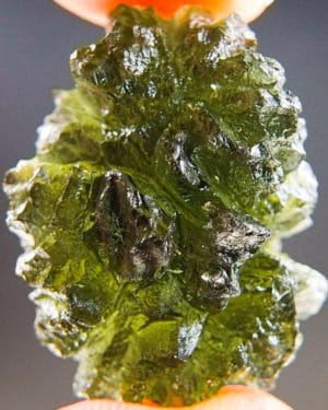 quality a+++++ boulder shape investment moldavite from besednice with certficate of authenticity (6.97grams) 1