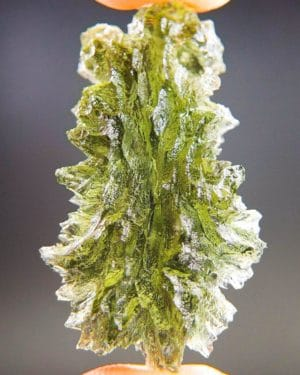 quality a+++ drop shape investment moldavite from besednice with certificate of authenticity (5.88grams) 1