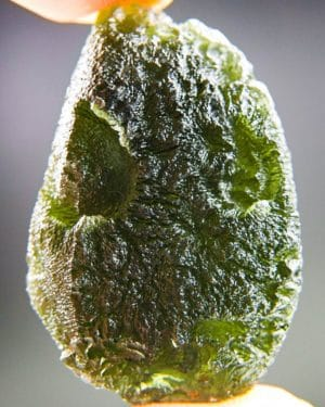 quality a+++ large natural piece moldavite with certificate of authenticity (17.93grams) 1