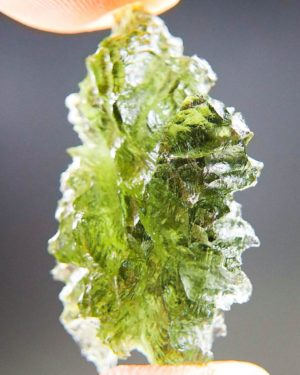 quality a+++ shiny beautiful investment moldavite from besednice with certificate of authenticity (4.72grams) 2