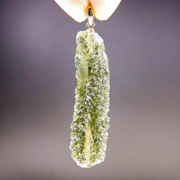 quality a+ stick rare shape moldavite pendant (6.08grams) 1
