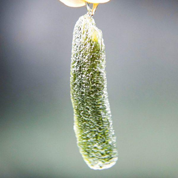 shiny moldavite from chlum pendant (5.59grams) 2