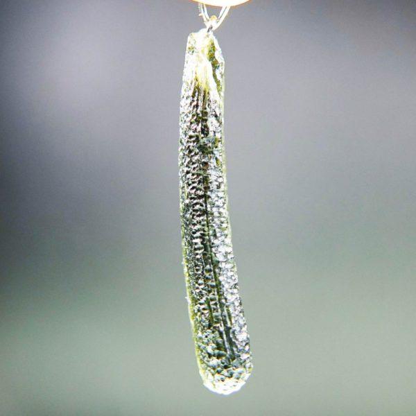 shiny moldavite from chlum pendant (5.59grams) 3