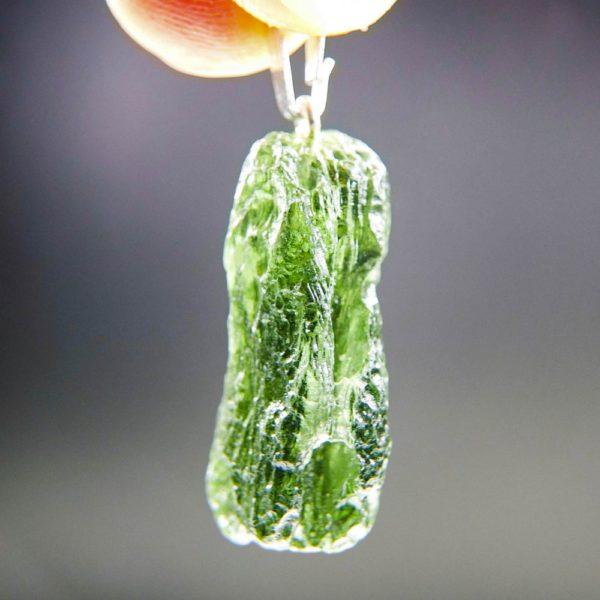 vibrant green moldavite from chlum pendant (4.54grams) 2