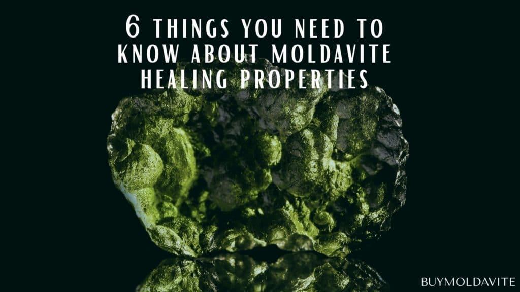 moldavite healing properties