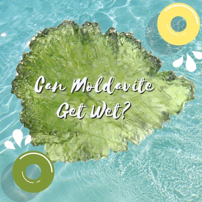 wet moldavite